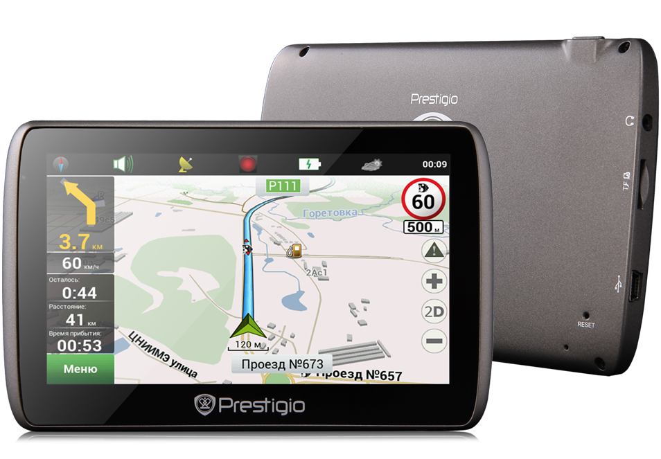 Prestigio Geovision 5000 Is A New Ultra Thin And Stylish Navigator With A 5 Inch High Resolution 480 X 272 Pixels Tft L Samsung Galaxy Phone Navigation Lcd