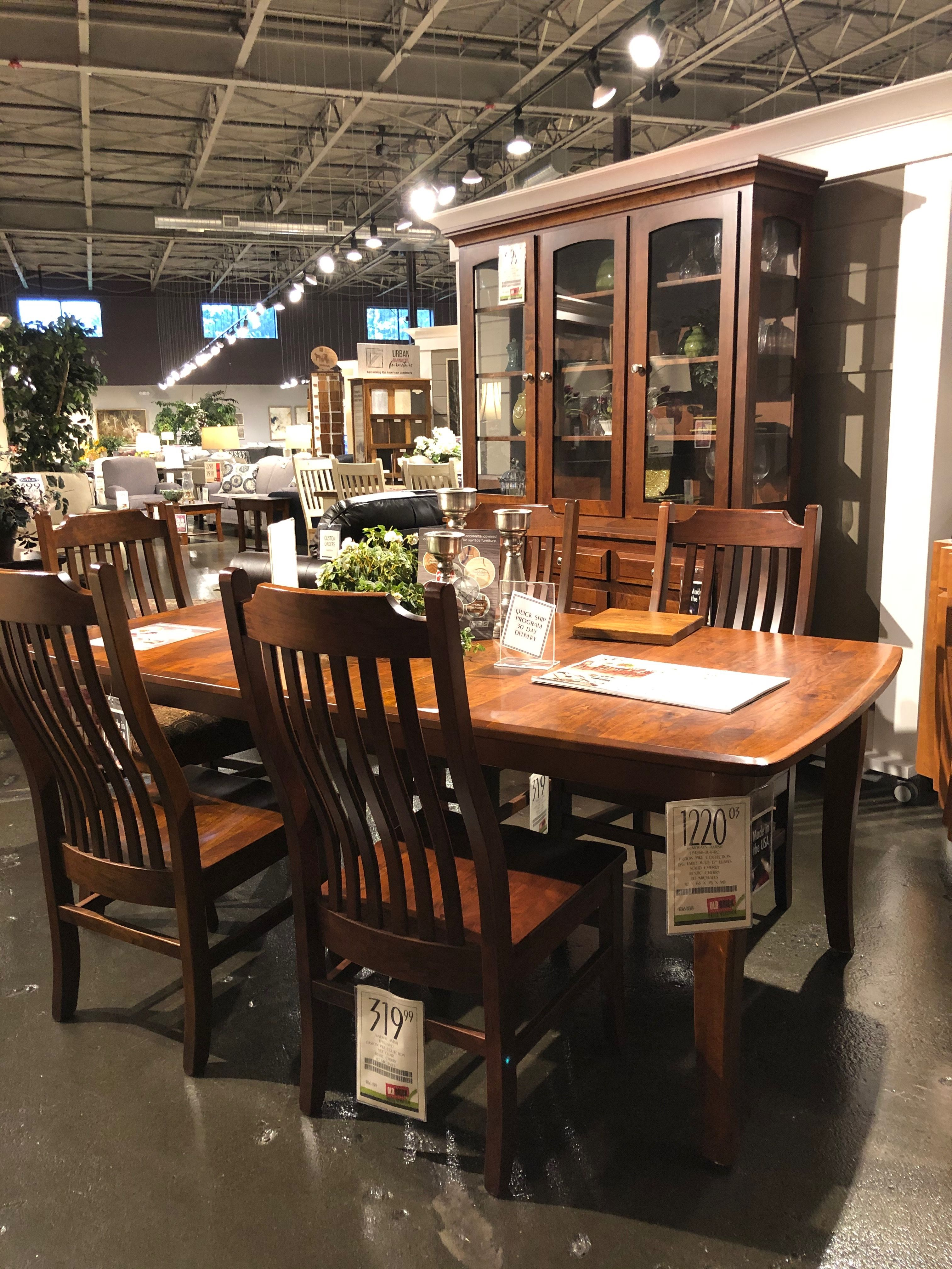 The Customizable Trailway Amish Collection Link To Table Below