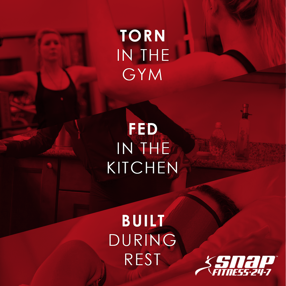 "Make sure to get a ""rest day"" in once a week, ‪#‎SnapNation‬!"