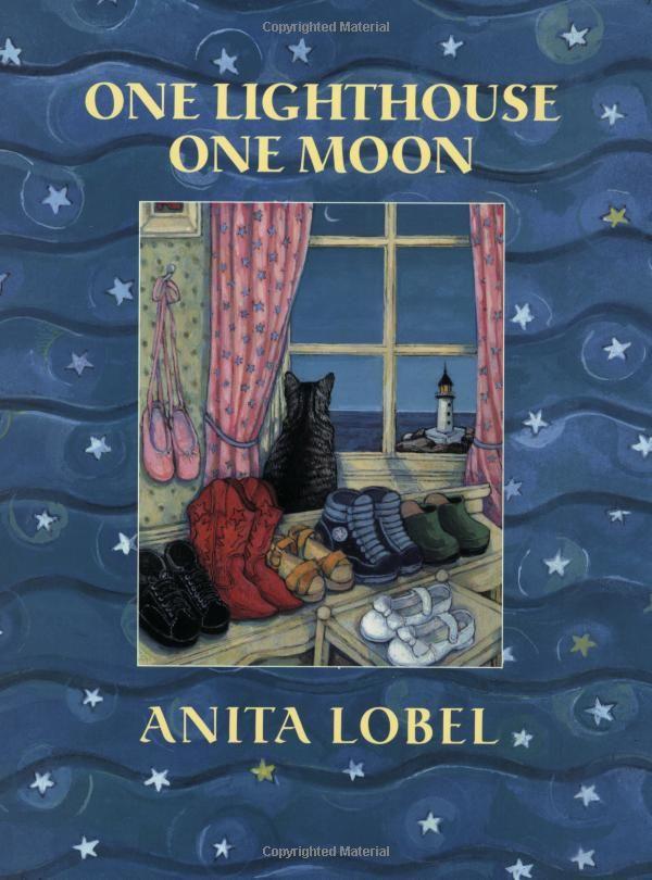 One Lighthouse One Moon Anita Lobel 9780060005375 Amazon