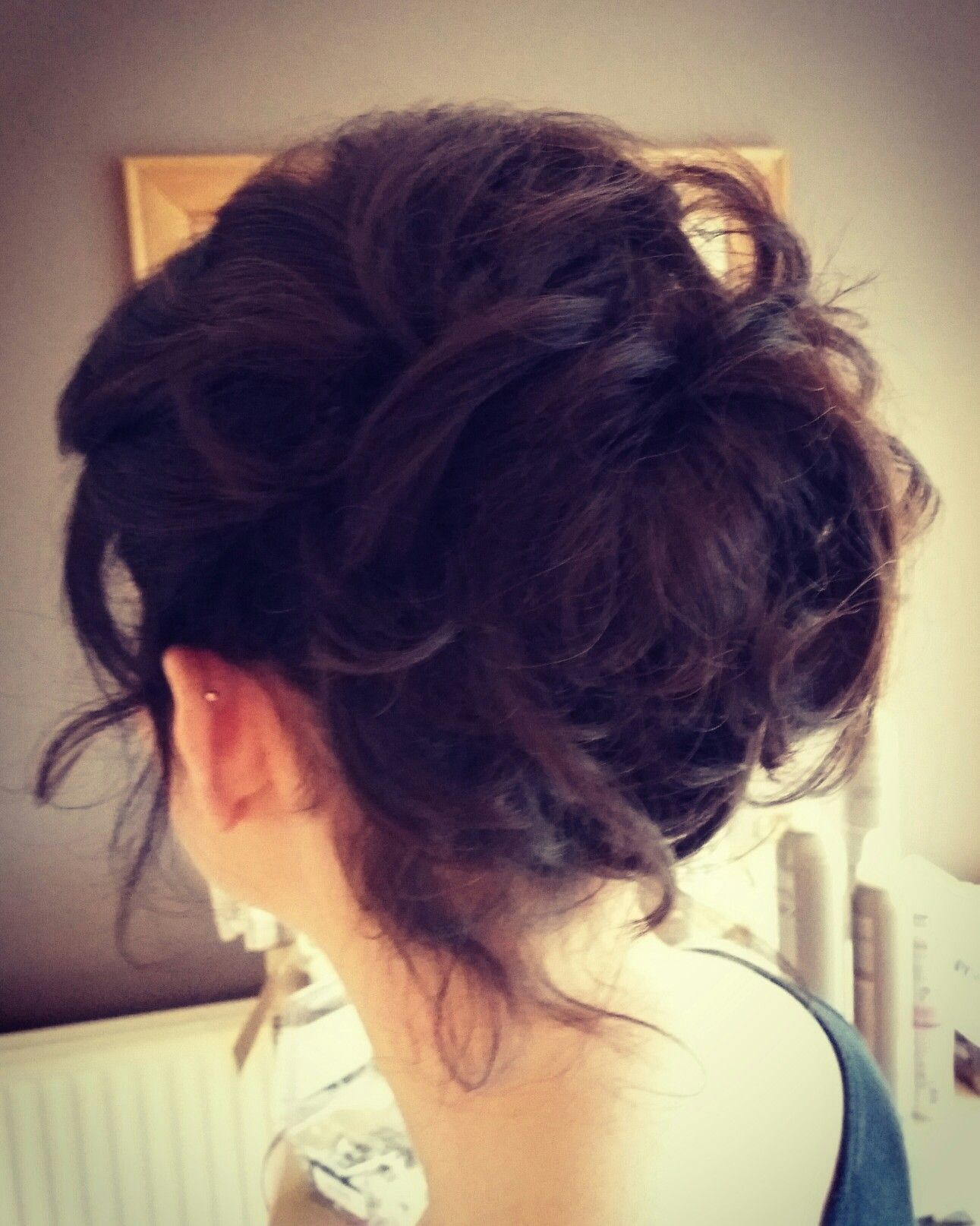 Simply beautiful. Hair up, romantic and gorgeous. Hair by charlottewaredesigns