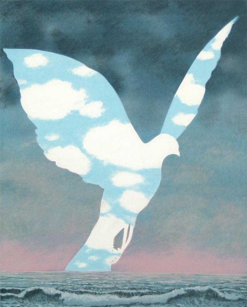 Rene Magritte 大家族 1963 ルネ マグリット マグリット シュルレアリスムアート