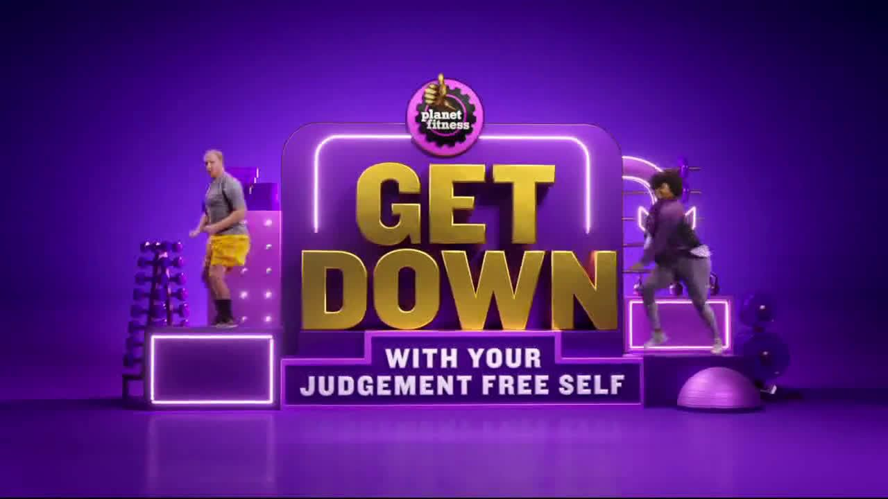 Planet Fitness Extended Get Down With Your Judgement Free Self Ad Commercial On Tv 2019 Planet Fitness Workout Rockford Urbana