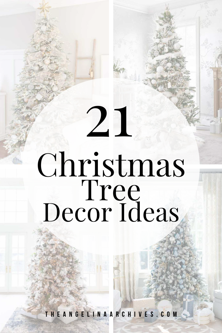 Stunning Christmas Tree Decor Ideas Christmas Tree Decorations Beautiful Christmas Trees Christmas Tree
