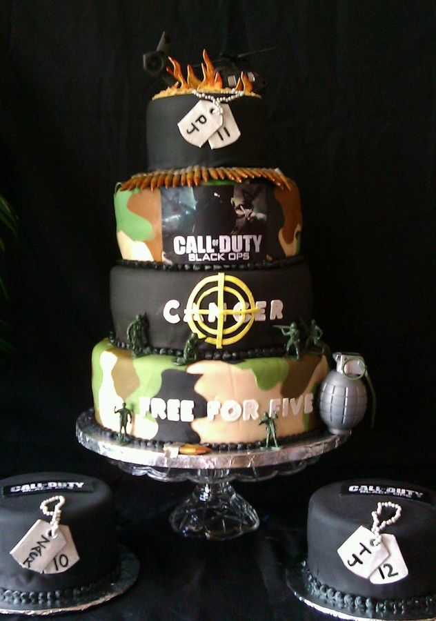 Prime Call Of Duty With Images Fondant Cakes Birthday Boy Birthday Funny Birthday Cards Online Inifodamsfinfo