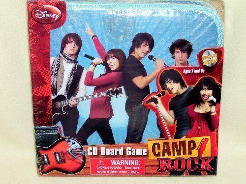 disney camp rock cd board game by disney disney board games