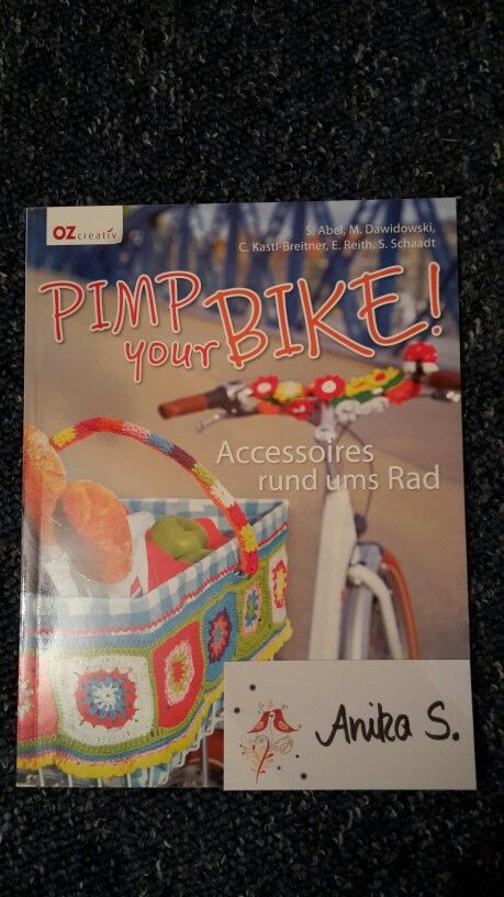 Witzige, bunte Accessoires für's Fahrrad!