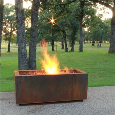 Photo of Bentintoshape 48″ x 20″ Rectangular Fire Pit