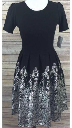 LuLaRoe Elegance Collection Sm Amelia Black & Silver Foil Damask! MAJOR UNICORN! https://t.co/RrVSckrndh https://t.co/EfvVVmfX2A