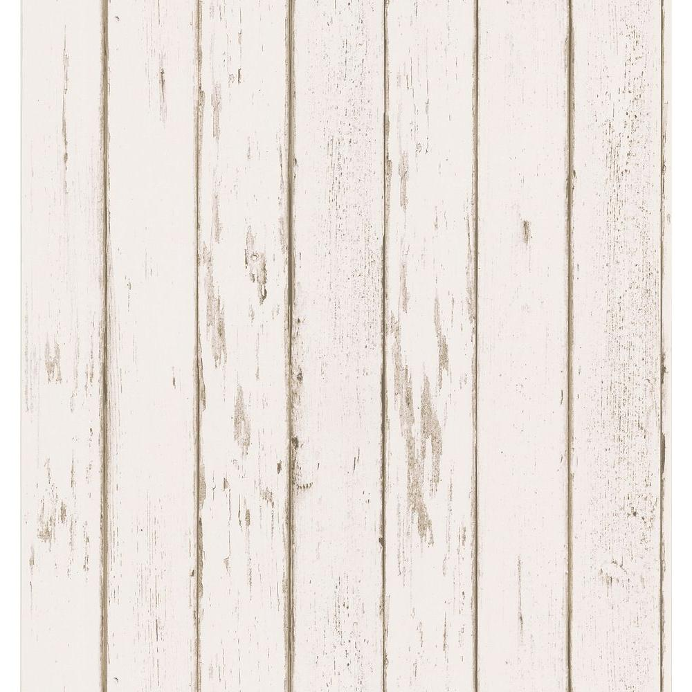 Brewster Weathered Plank Wallpaper 145 62600 The Home Depot Wood Wallpaper Wood Plank Wallpaper Brewster Wallpaper