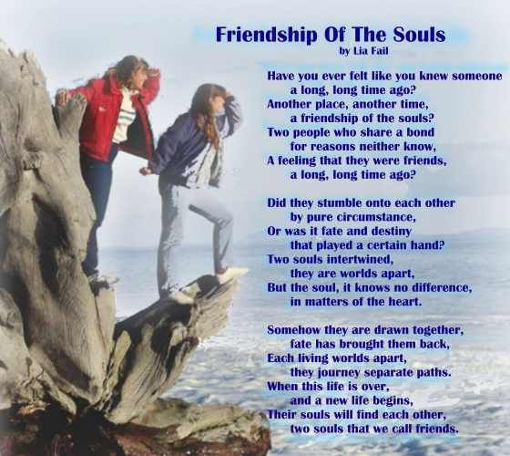 friendship peom | Friendship Poem - Friendship Of The Souls ...