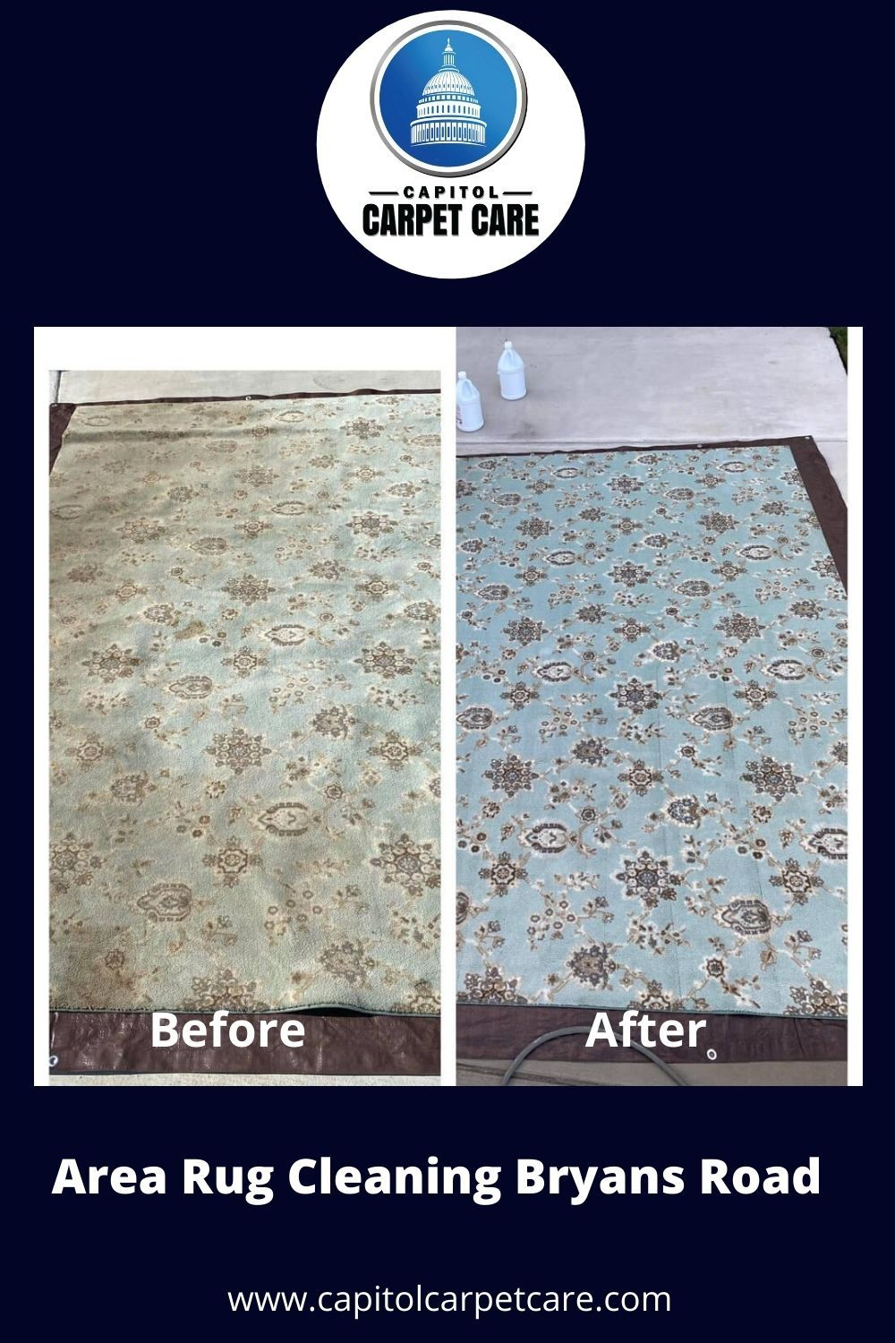 Even if your home uses hard flooring surfaces, we still offer the services you need. Green carpet cleaning is also beneficial for many area rugs, carpet runners, mats, and more.  From living rooms to bedroom rugs, synthetic materials, and natural fibers, we treat them all. Whenever you have soiled rugs and smelly mats, we can assist you the best with our area rug cleaning Bryans Road.   #rugcleaning #rugcleaners #arearugcleaningbryansroad #professionalarearugcleaning