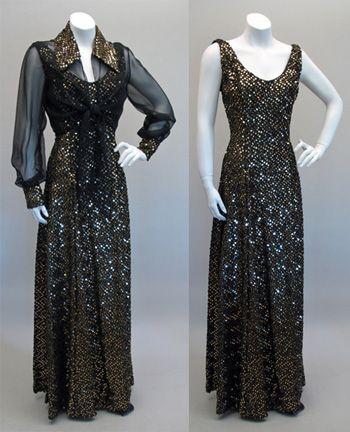 1970s evening dresses - Google Search | La Cage Aux Folles ...