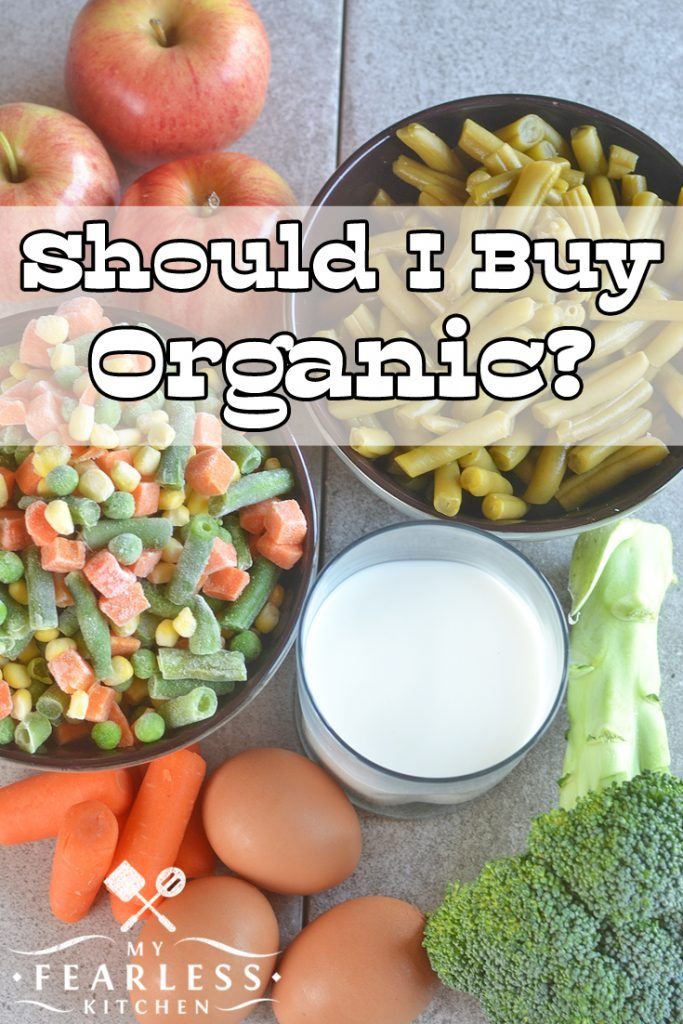 Should I Buy Organic? from My Fearless Kitchen. Do you sometimes ...