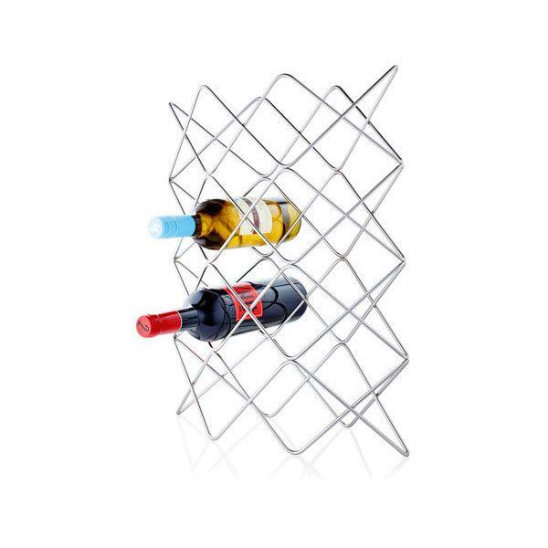 Blomus Wine Rack For 12 Bottles Wire 395 Dkk Liked On Polyvore