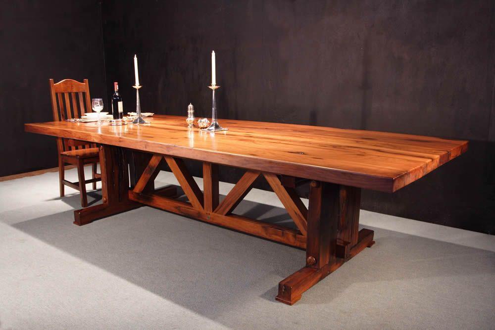 muebles tres hermanos mesas de quebracho mesas pinterest mesas y bsqueda
