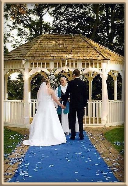 We Have Blue Aisle Runners In Many Different Lengths And Colors