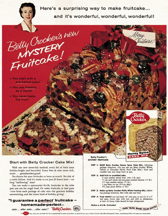 Betty crocker fruit cake recipes