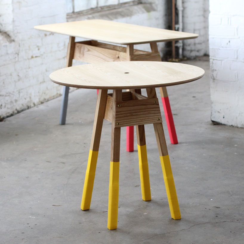 shai akram + andrew haythornthwaite #tables furniture landscape at - Peindre Table De Chevet