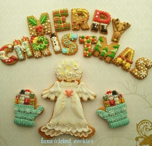 クリスマスクッキー その2☆|アイシングクッキーワークショップ