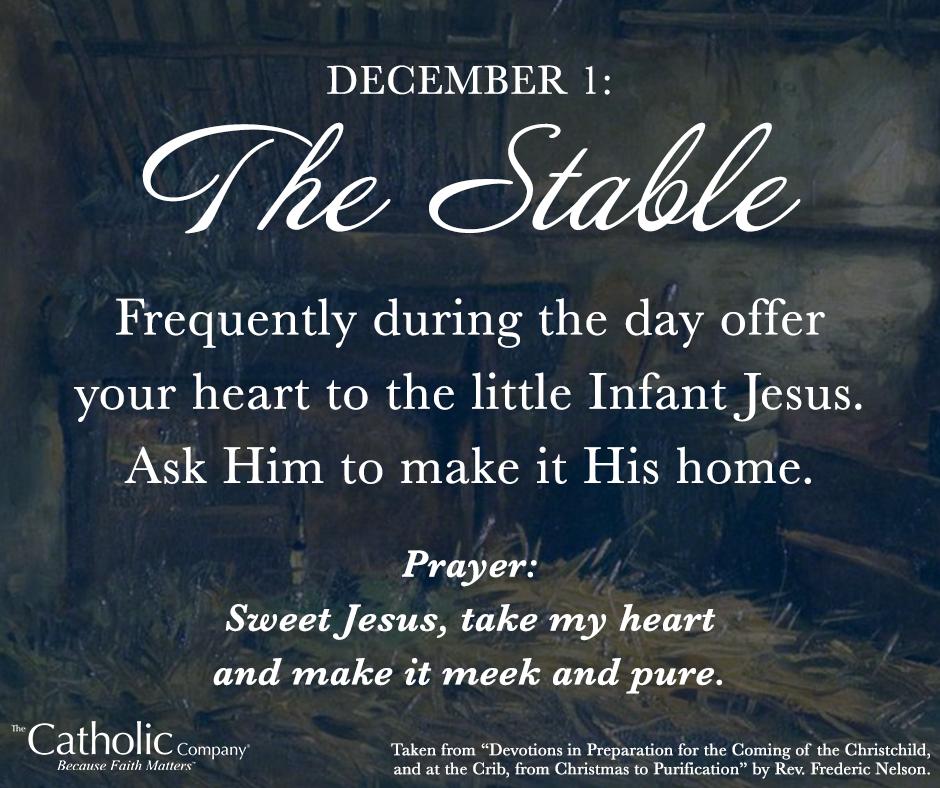 A Spiritual Christmas Crib Preparing Our Hearts For Christ S Coming Spirituality Preparation Prayers