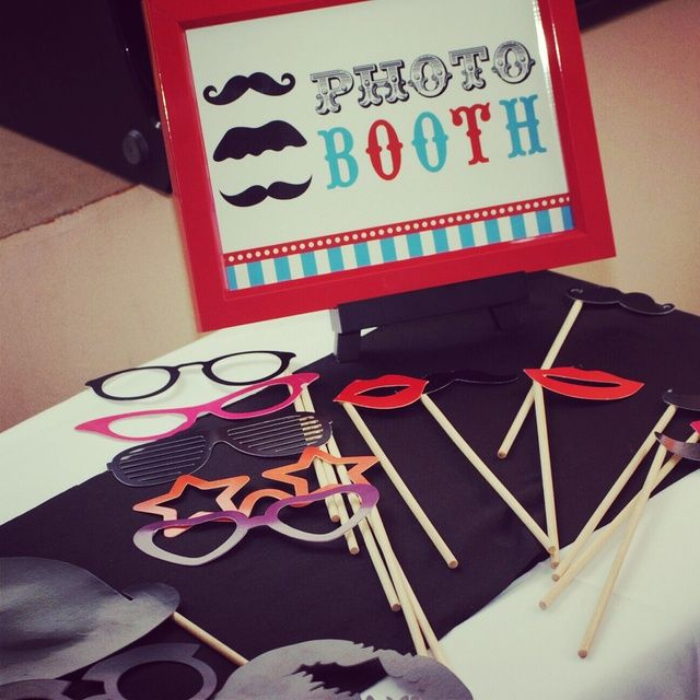 Photo Booth Props #photobooth #props
