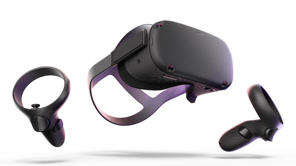 Oculus Quest 128gb Vr Headset Walmart Com Gaming Headset Vr Headset Virtual Reality Technology