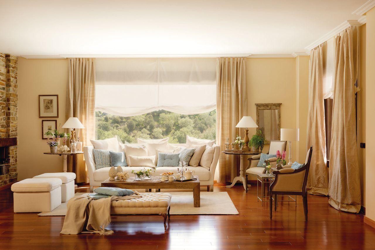El Mueble  sunny living room  siempre he querido poner algo asi  cortinas bcas   con el  cubre de tute  nada mas se hacen y sale bien bara