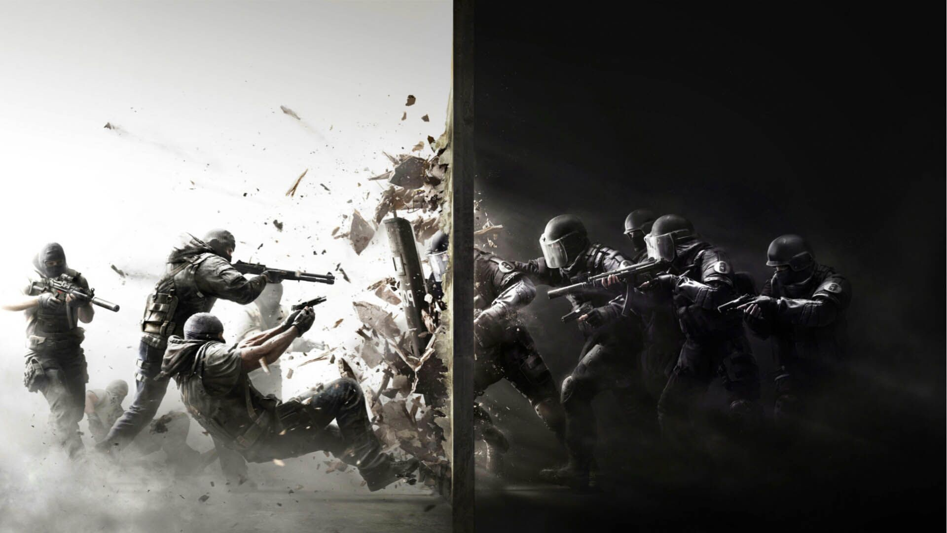 Rainbow Six Siege Battle Game Hd Wallpaper