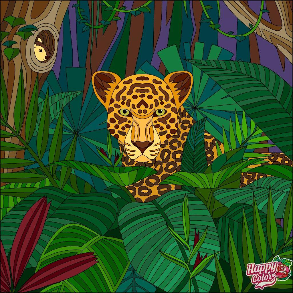 Pin Van Esther Gamboa Herrera Op Mis Colores Dieren Kleuren Schilderij