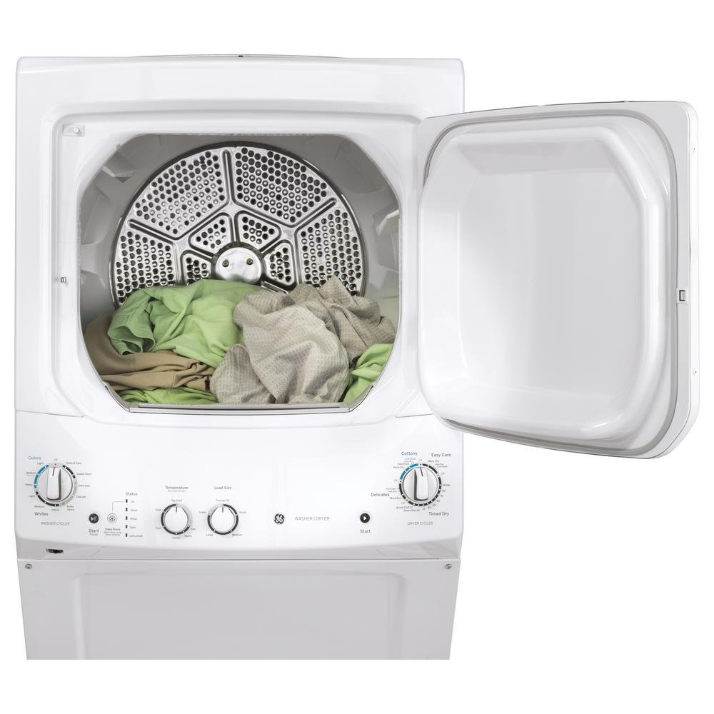 Ge Spacemake Washer And Dryer Laundry Combo White Electric