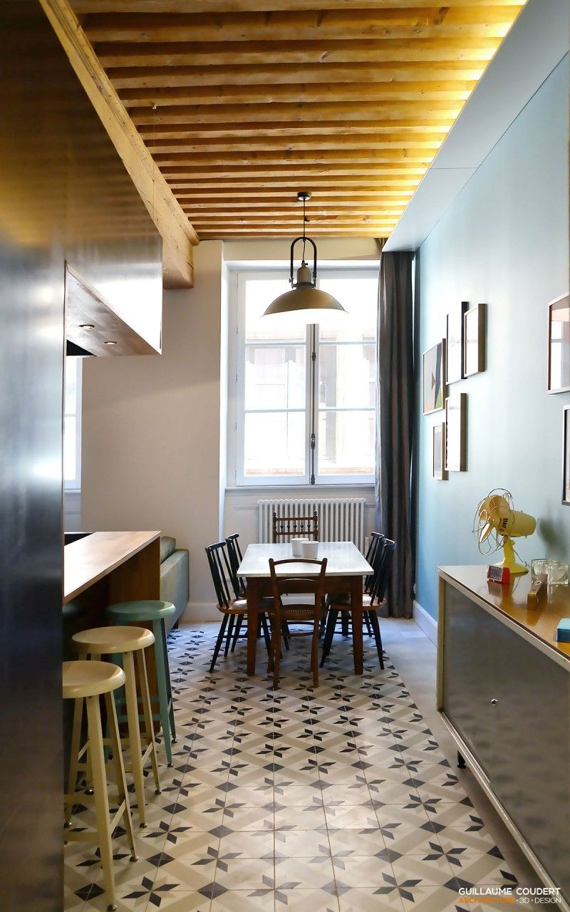 Decoration Interieur Appartement Vintage rénovation, décoration vintage, architecture d'intérieur