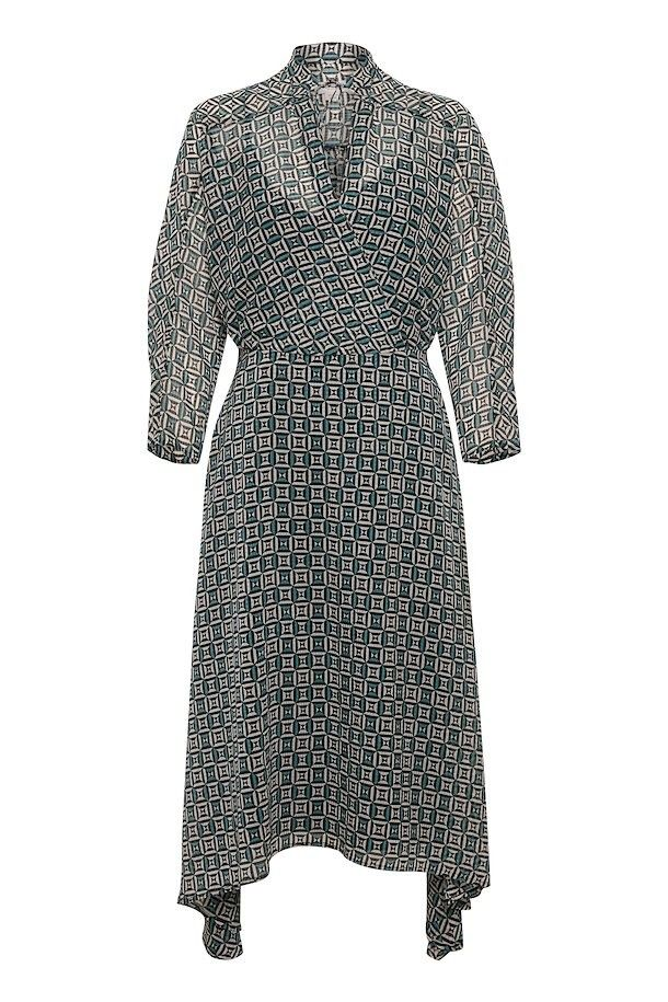 Pin by Susanne Hansen on kjoler   Geometric print dress ...