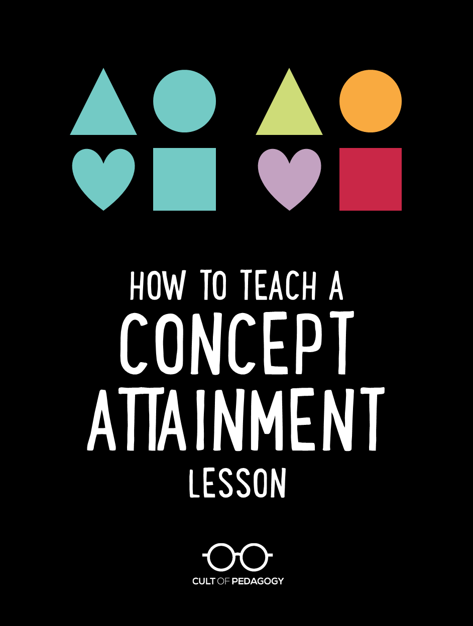 How to Use the Concept Attainment Strategy is part of Cult of pedagogy, Effective teaching strategies, Pedagogy, Instructional strategies, Teaching inspiration, Teaching - Stepbystep instructions for using this engaging instructional strategy; video included!