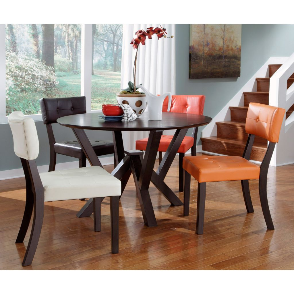 49 Simple Dining Room Multicolored Chairs Ideas Side Chairs Dining Dining Table In Kitchen Dining Room Design