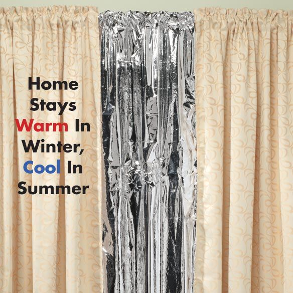 Solar Curtains - Energy Savers - Home - Walter Drake | Home Decor ...