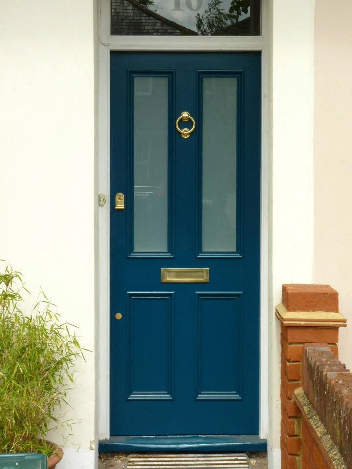 The London Door Company \'Deep Turquoise\' paint colour - Satin | Home ...