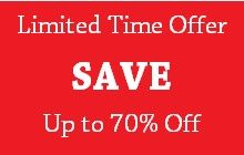 Limited Time Offer - Save Up to 70% Off