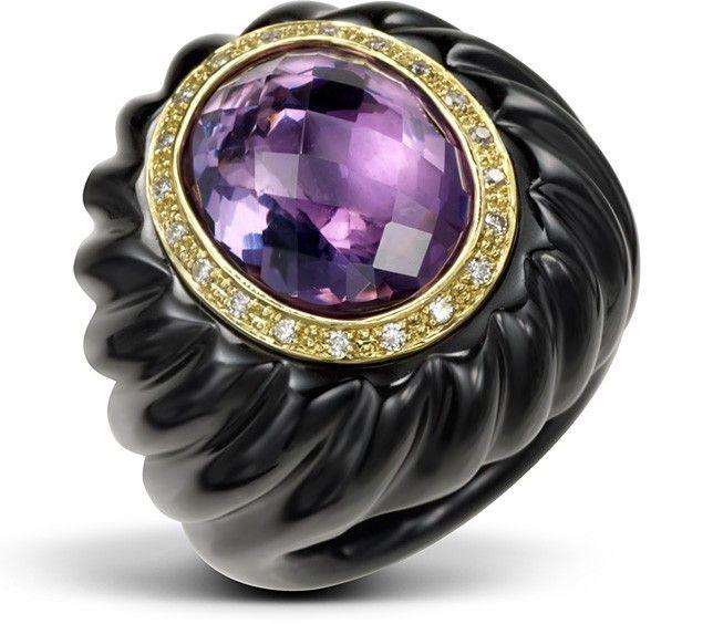 Violet Swirl by Leons of Beverly Hills!   #passion #purple #gold #diamonds #diamondsareagirlsbestfriend #jewelry #couture #style #fashion