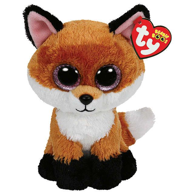 BuyTy Beanie Boo Slick Fox Soft Toy Online at johnlewiscom