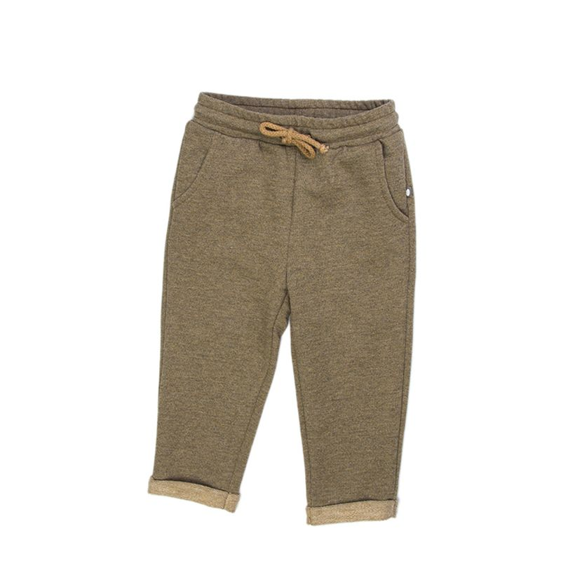 Relaxed Pants-Mustard