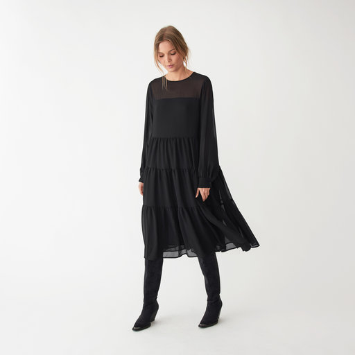 Köp Svarta klänningar för Kvinna Online | FASHIOLA.se