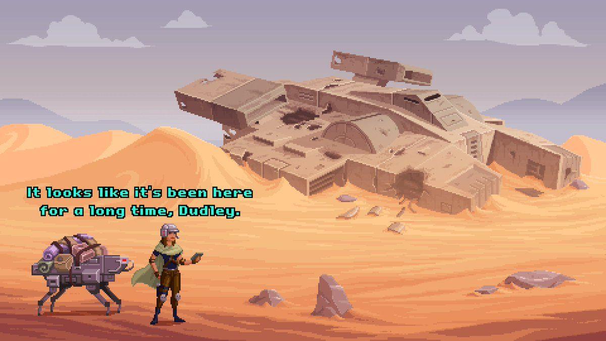 desert pixel art