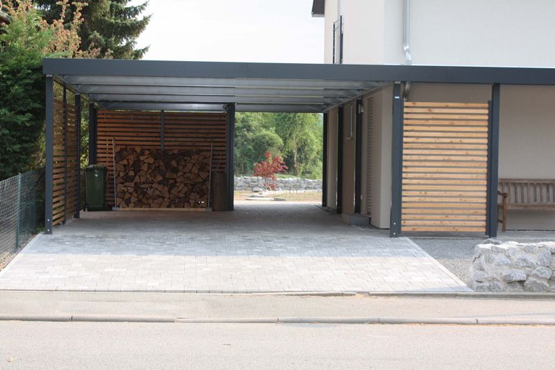 carports garagentore berdachungen ger teh user carport websi overhang pinterest carport. Black Bedroom Furniture Sets. Home Design Ideas
