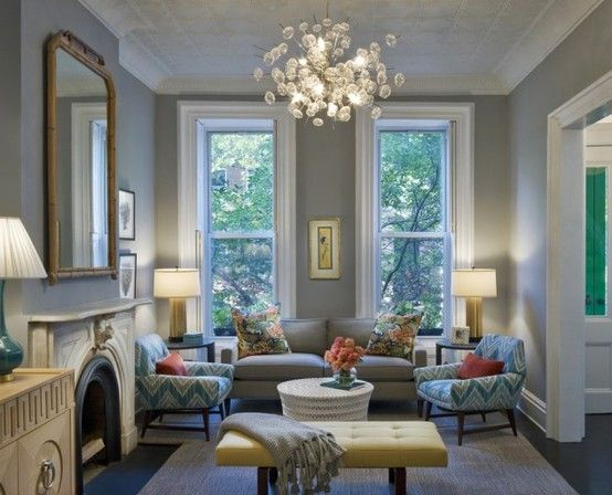 benjamin moore revere pewter living room. Benjamin Moore  Coventry Gray wall color pops against white with turquoise aqua furniture accents Less feminine than sea mist or light Window styles G zel pencereler iyi bir dekorasyona zemin