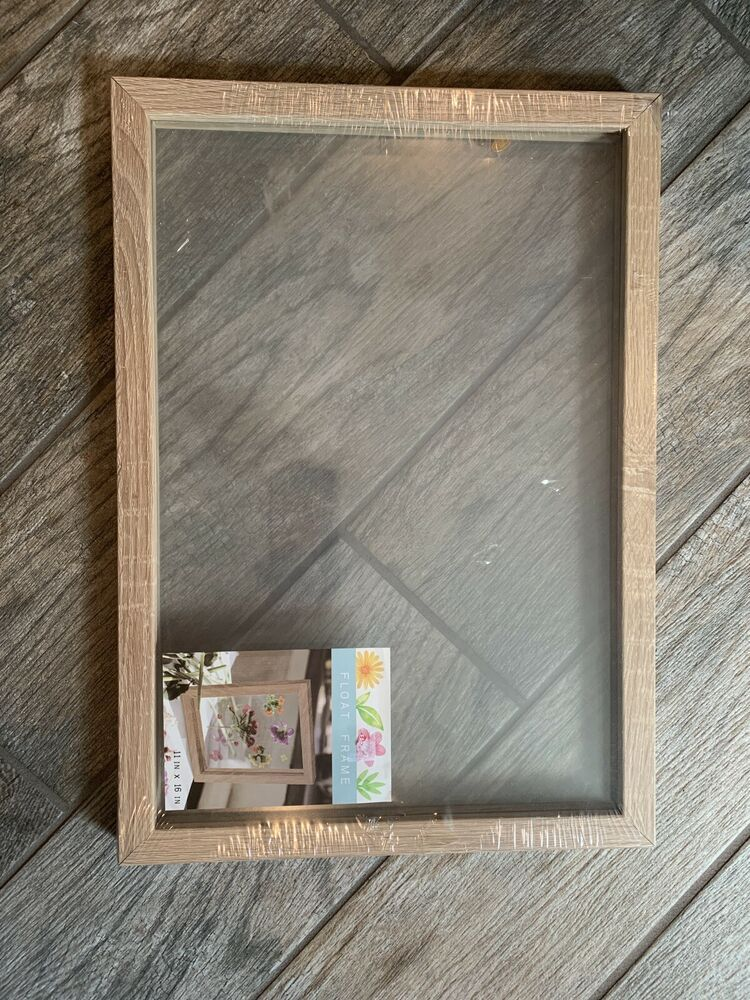 Float Frame 11x16 Fashion Home Garden Homedcor Frames Ebay Link Floating Frame Frame White Picture Frames