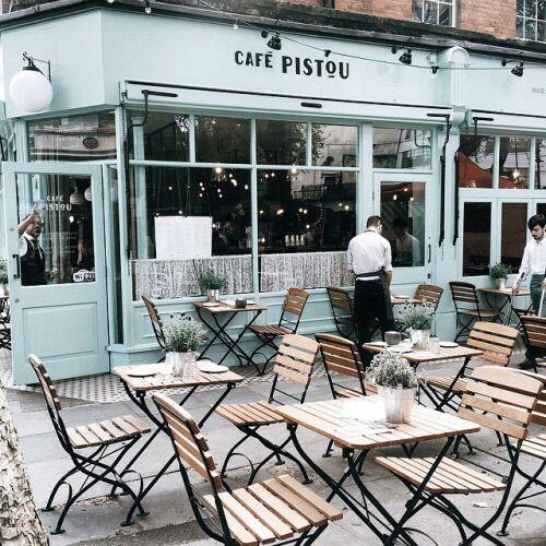 Terrasse Paris Tumblr Coffee Shop Places Cafe Design