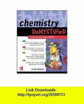 Chemistry demystified self teaching guide linda williams chemistry demystified self teaching guide linda williams asin b004yrqbzs tutorials pdf ebook torrent downloads rapidshare filesonic fandeluxe Choice Image