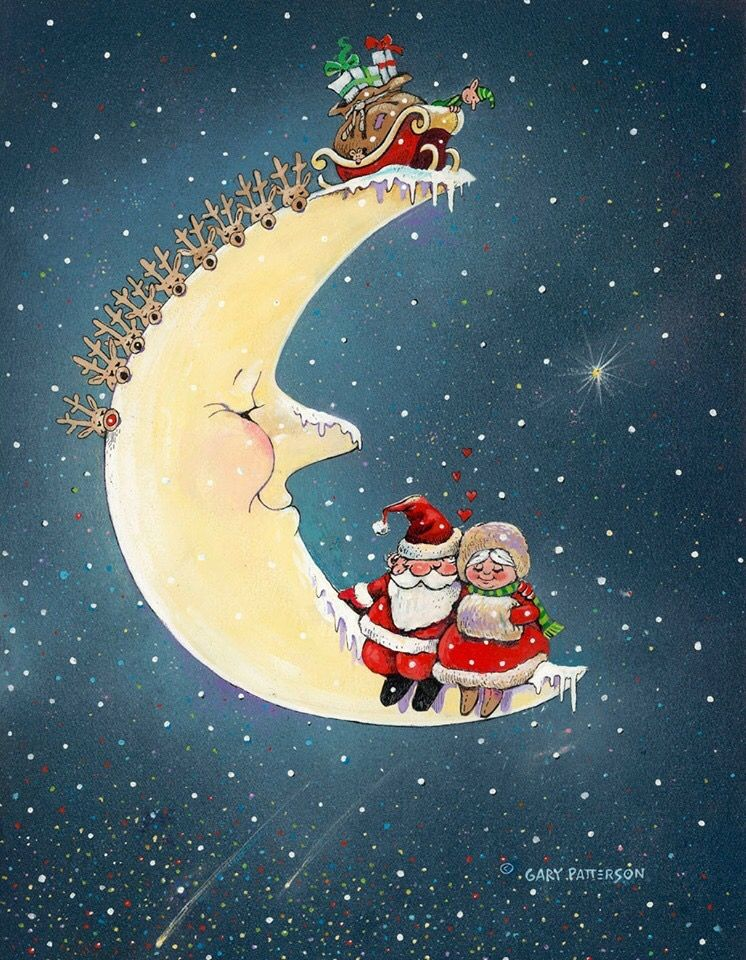 Date night for Santa & Mrs