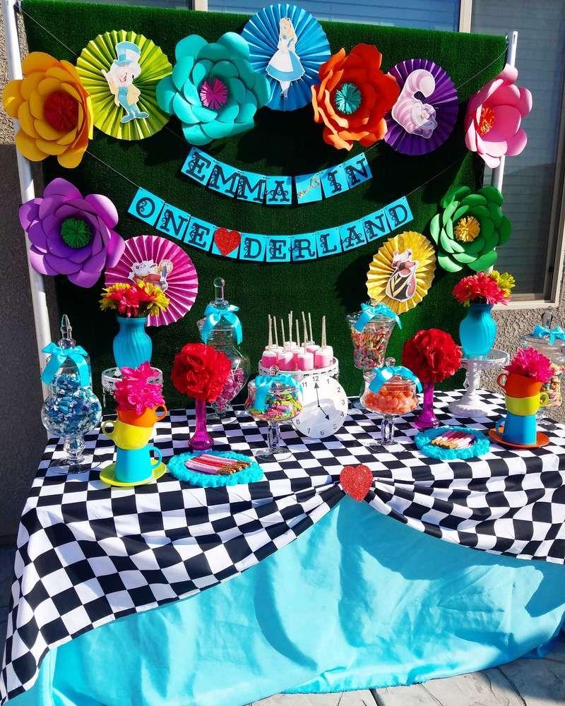 Alice In Wonderland Birthday Party Ideas Alice In Wonderland Tea